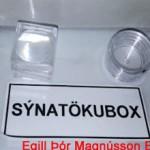 Sýnatökuboxin eru afar þægileg í notkun og fara vel með skordýrin